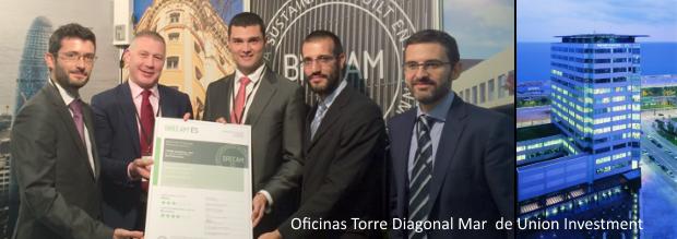 Entregamos en barcelona los certificados breeam obtenidos for Oficinas western union barcelona